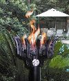 GL051 Malumai (Hawaiian for Party) Cast Aluminum Gas Powered Torch Head