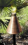 GL040 Copper Luau Tiki Torch