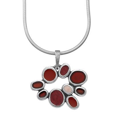 Samba / Rouge Studio Line Pewter Necklace