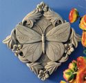 Carruth Studio Acanthus Butterfly