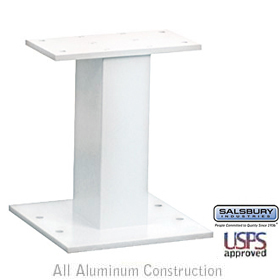 PEDESTAL-FOR CLUSTER BOX UNIT #3316 AND #3313 AND OPL #3302-WHITE