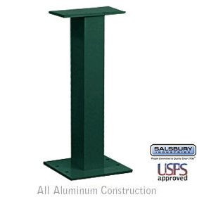 PEDESTAL-FOR CLUSTER BOX UNIT #3308 AND #3312-GREEN