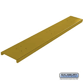 3 WIDE SPREADER FOR DESIGNER ROADSIDE MAILBOX-BRASS FINISH