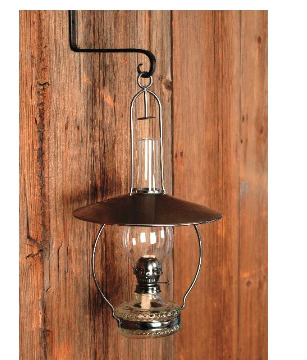 Sugar Creek Supplies Hanging Oil Lamp With Reflector