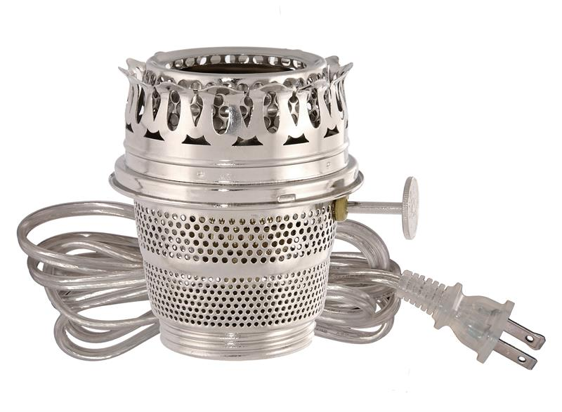 Convert Old Kero Or Coal Oil Lamp To Electricity