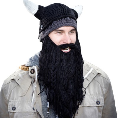 Beard Heads Barbarian Pillager Knit Hat d209aa06bd6