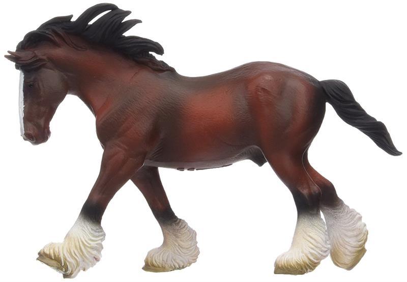 Breyer Horses Corral Pals Bay Clydesdale Stallion #88621