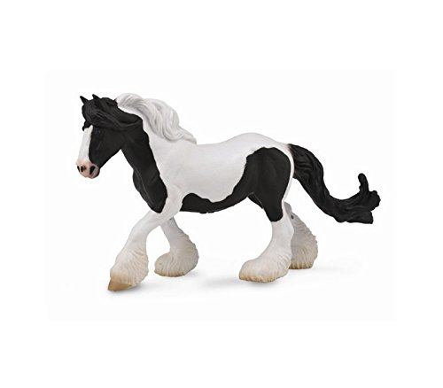 Set of 2 Mare /& Foal Horses CollectA 88582 88583 Black Shire Horse Mare /& Foal