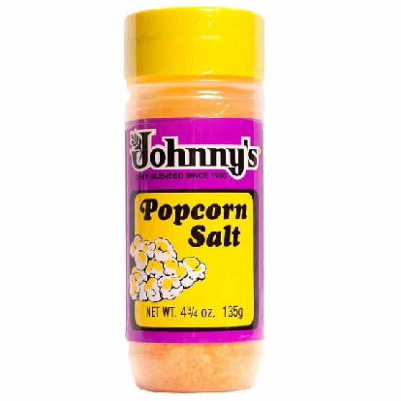 Johnny S Popcorn Salt 4 75 Ounce Bottle Butter Flavored Seasoning Salt