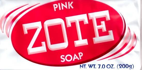 Zote Laundry Soap Bar 7 Ounce