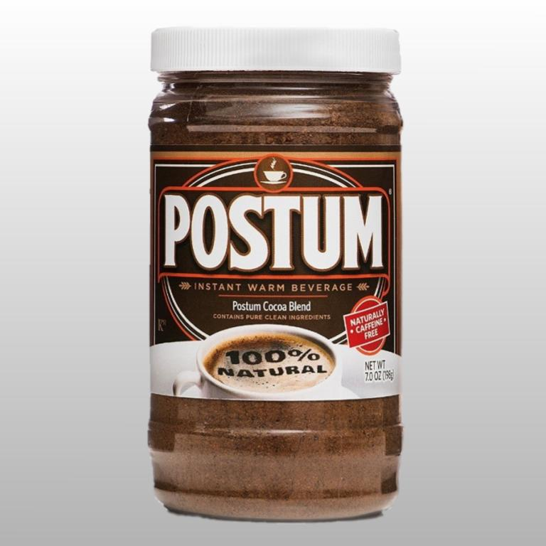 Cocoa Flavor Postum - Coffee Drink Substitute 8 ounce, 100