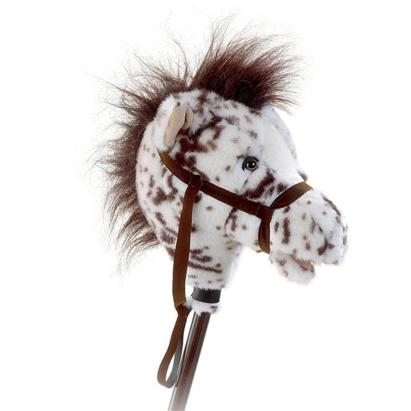 Plush Chestnut Leopard Appy Toy Horse