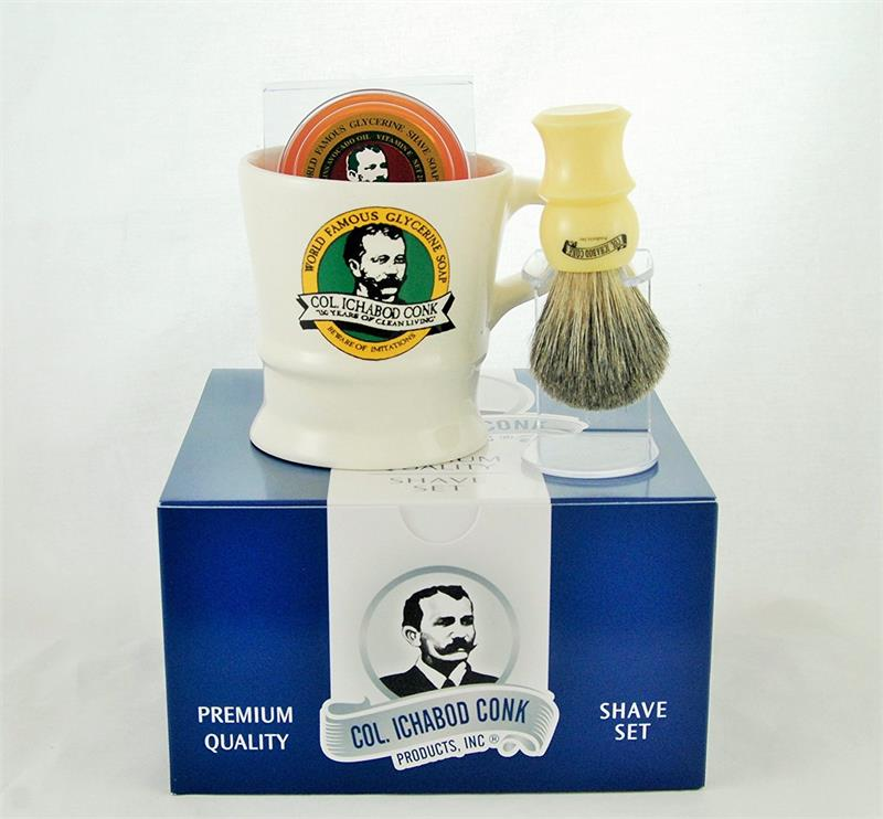 Colonel Conk Shaving Gift Set 221