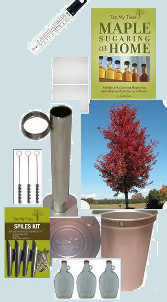 Tap My Trees VT State Tested Maple Syrup Hydrometer