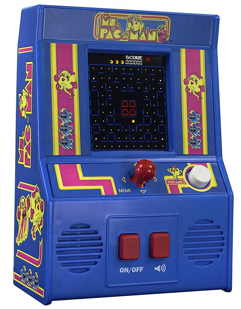 Tetris Arcade Style Hand Held Game #9594 Authentic 80/'s Graphics Schylling Toys
