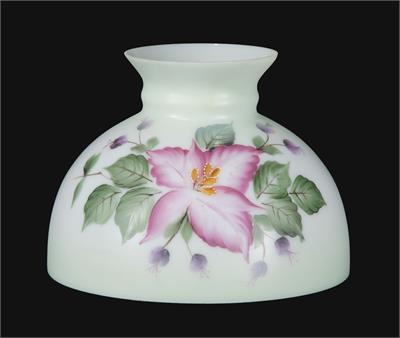 "10"" Student Style Glass Lamp Shade with Wild Orchid #01165"