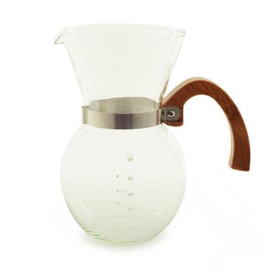 Brew the best tasting rich, flavorful coffee using manual pour-over brewing method. Perfect for cold brew coffee. Also, use to brew a pot of tea.