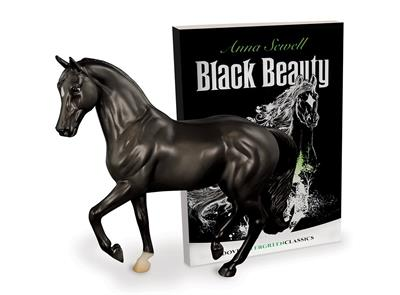 Anna Sewell's classic horse tale, Black Beauty, has inspired generations of horse lovers, and now is brought to you in a set with a beautiful 1:12 scale model of Black Beauty to cherish! Set includes Classics Size Model Horse and Paperback book.
