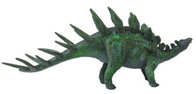Realistic dino toy with spike on its back.