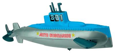 Toysmith Wind Up Submarine Toy #9072 Sub Bath Water Toy