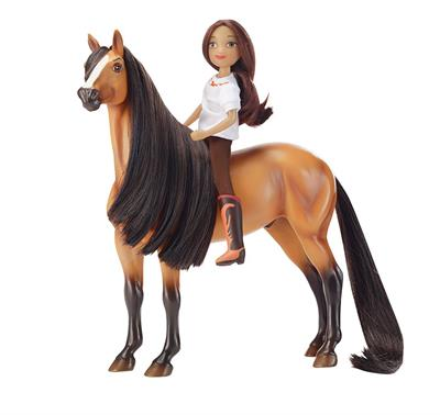 Buckskin American Mustang Stallion from DreamWorks Spirit Riding Free