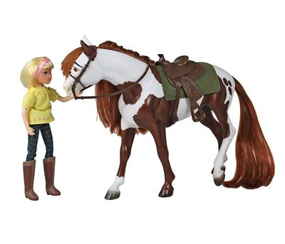 Chestnut Pinto Overo from DreamWorks Spirit Riding Free