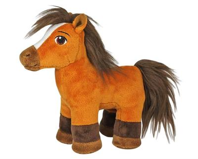 plush mustang horse toy from Dreamworks Spirit riding free
