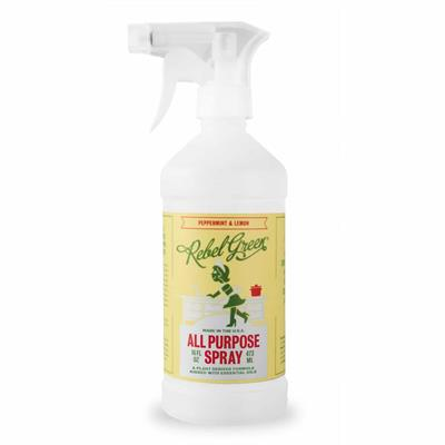 Behind this pretty packaging is Rebel Green's All Purpose Cleaner, which uses the power of plants and essential oils to create a happy and healthy cleaning experience. Skip the elbow grease and just go with the flow. You heard right! This is a powerful to