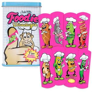 Accoutrements Foodie Bandages #12436