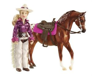 Breyer Horses Classics Size Kaitlyn Cowgirl Doll #61053