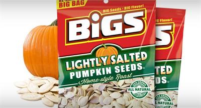 Bigs Simply Salted Pumpkin Seeds Lightly Salted Roasted