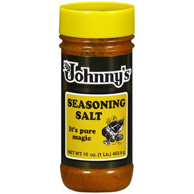 Johnny's Seasoning Salt 16 ounce bottle