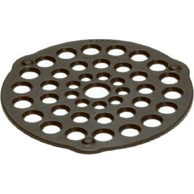 Cast Iron roast holder for inside dutch ovens and camp dutch ovens to prevent burned food