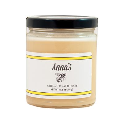 For the pure taste of sweet, natural honey in an easily spreadable blend, try Anna's Natural Creamed Honey. Also known as whipped honey, Anna's Natural Creamed Honey is made with pure honey harvested straight from the hives of Pacific Northwest bees. Our