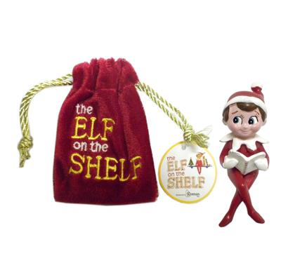Elf on the Shelf Chippey the Elf Figurine in Pouch #32063