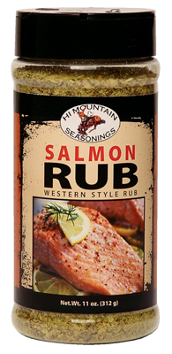 BBQ Spice Seasoning for Salmon, Trout, Fish Cooking