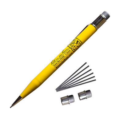 Do you like pencils but fear they will break when it matters most? You're not alone. A Rite in the Rain Mechanical Pencil may well be the last pencil you'll ever need to buy. True to the Rite in the Rain brand, this pencil is tough, reliable, made in the