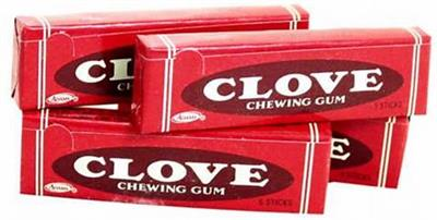 Cadbury Adams Clove Chewing Gum, 5 Sticks  Originally produced by the Thomas Adams Company in 1914, this clove flavored chewing gum has been unavailable for a few years. Stock up on your Clove chewing gum while supplies last. We also offer Beemans and Bla