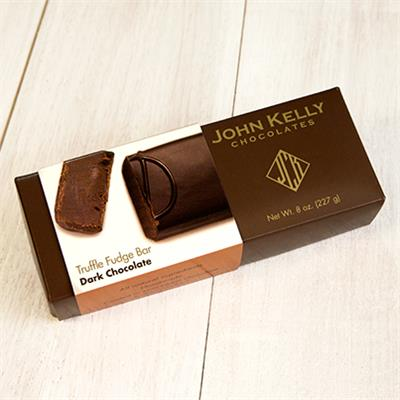 John Kelly dark chocolate is a full-bodied chocolate that is not bitter but has an incredible depth of flavor, with a cacao content of 86%.
