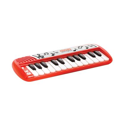 Schylling Classics Make-A-Melody Electronic Keyboard #EK  Schylling's Electronic Keyboard is a classic 24 key electronic keyboard. It's compact size allows little musicians to bring this keyboard almost anywhere. Features 14 demo song, plus Piano, Trumpet