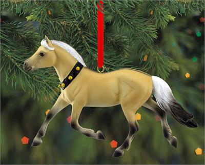 Breyer Horses 2019 Beautiful Breeds Ornament Series Norwegian Fjord #700520 18th in a Collectible Series Brand New in Original, Un-Opened Box  Norwegian Fjords attracts attention wherever they go due to their unique two-color mane that stands erect when t