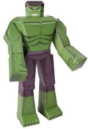 "Blueprints Paper Craft Marvel 12"" Incredible Hulk #12813"