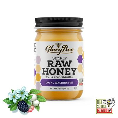 This pure, raw honey is not only regionally sourced from Washington, but is also sustainable and supports SAVE the BEE®.GloryBee has sourced this honey from Washington state beekeepers who can meet their high standards for providing pure, antibiotic-free
