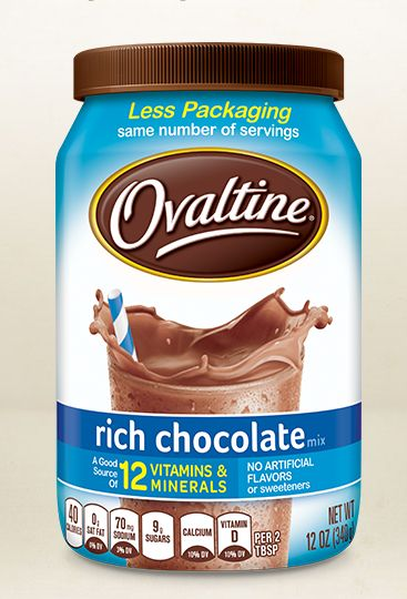 Rich Chocolate Ovaltine Powder 12 ounce