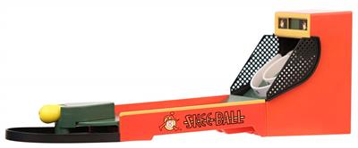 Basic Fun Skee Ball Mini Electronic Game #9612  Originally launched in 1908, skee-ball is the oldest arcade game in today's market and has entertained families for more than 100 years. From summer vacations spent on the boardwalk to County fairs and birth