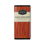 Seattle Chocolates Crunchy Peanut Butter Dark Chocolate Truffle Bar  Roasted peanuts and creamy dark roast peanut butter in rich dark chocolate made with Rainforest Alliance Certified™ cocoa. A grown-up version of a childhood favorite. 2.5 oz.  Ingredient