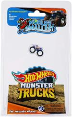 World's Smallest Mattel Hot Wheels Monster Truck #5016 Assorted Styles: Bone Shaker ™, Hot Wheels Racing #1™, or Rodger Dodger™. One per purchase. Please let us choose. Introducing World's Smallest Hot Wheels Monster Trucks featuring Bone Shaker ™, Hot Wh