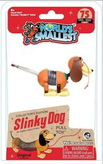 "Relive your childhood memories with the Collector's Edition Slinky Dog in miniature! Your kids might recognize him from the widely popular ""Toy Story"" movies, but the Slinky Dog has been a classic pull toy that has entertained children since 1945! Animate"