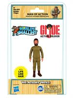 World's Smallest G.I Joe has articulated legs, arms, and head and features