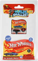 World's Smallest Mattel Hot Wheels Series 5 #566 Assorted Styles shipped at random, please let us choose. One car per purchase.  Fire up your inner race car driver and bring the dream to life with the World's Smallest Hot Wheels. These tiny, die-cast Hot
